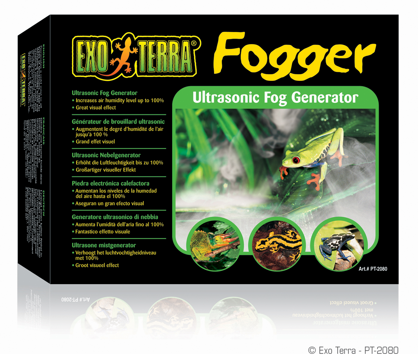 reptile fogger machine