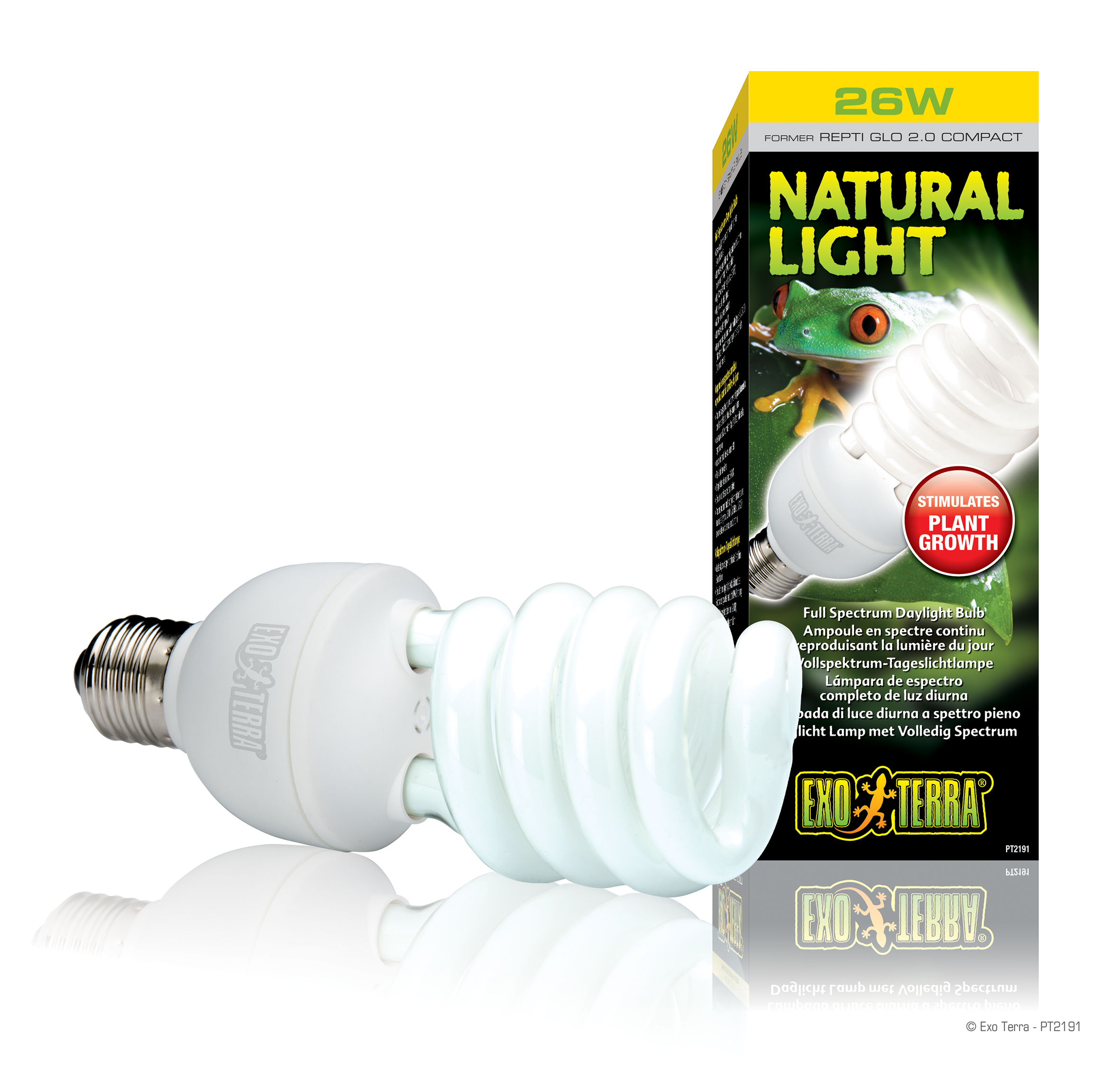 Exo Terra Natural Light Full Spectrum Daylight Bulb