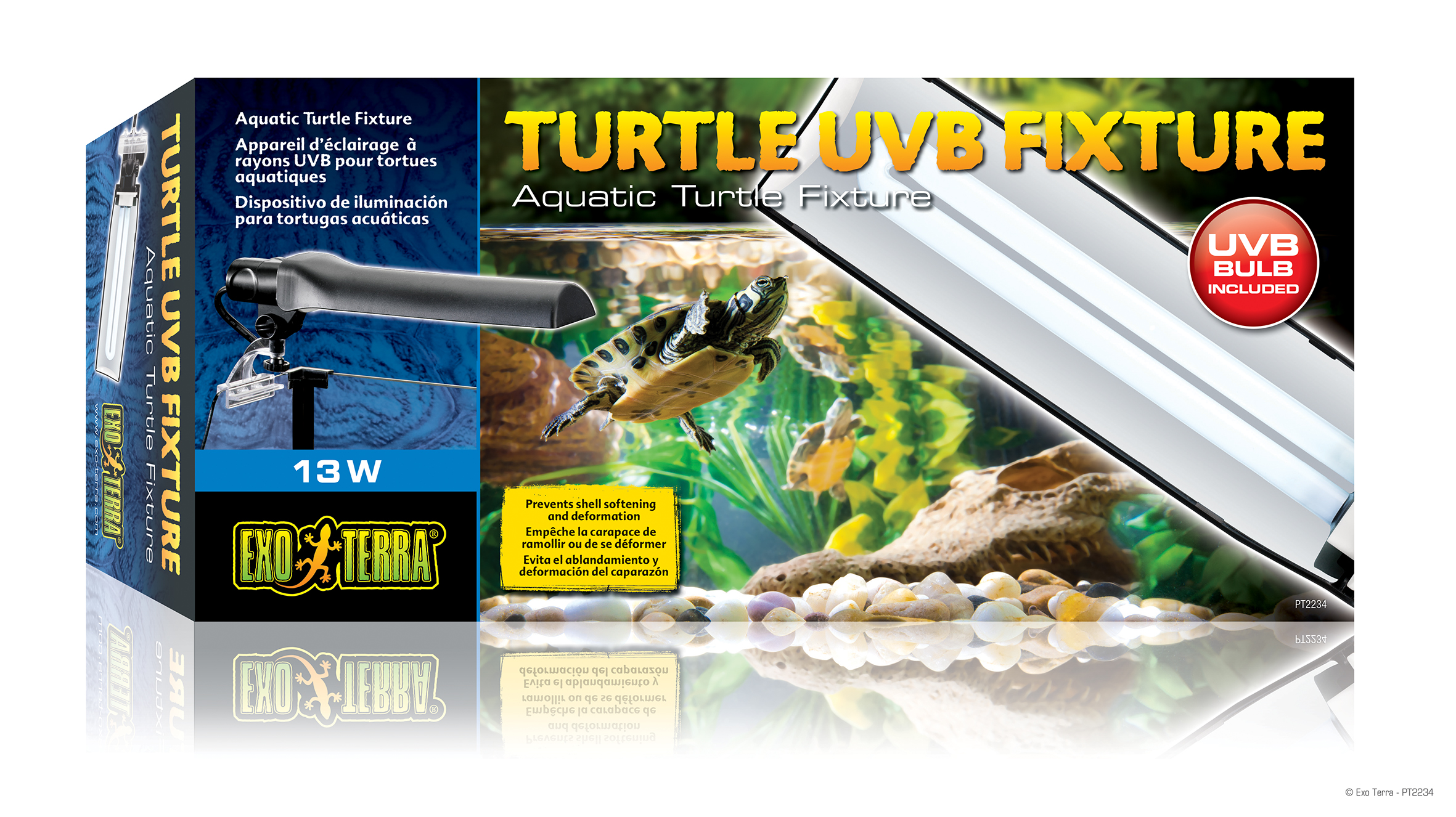 Exo terra turtle uvb fixture aquatic turtle fixture adhesive support base arubaitofo Choice Image