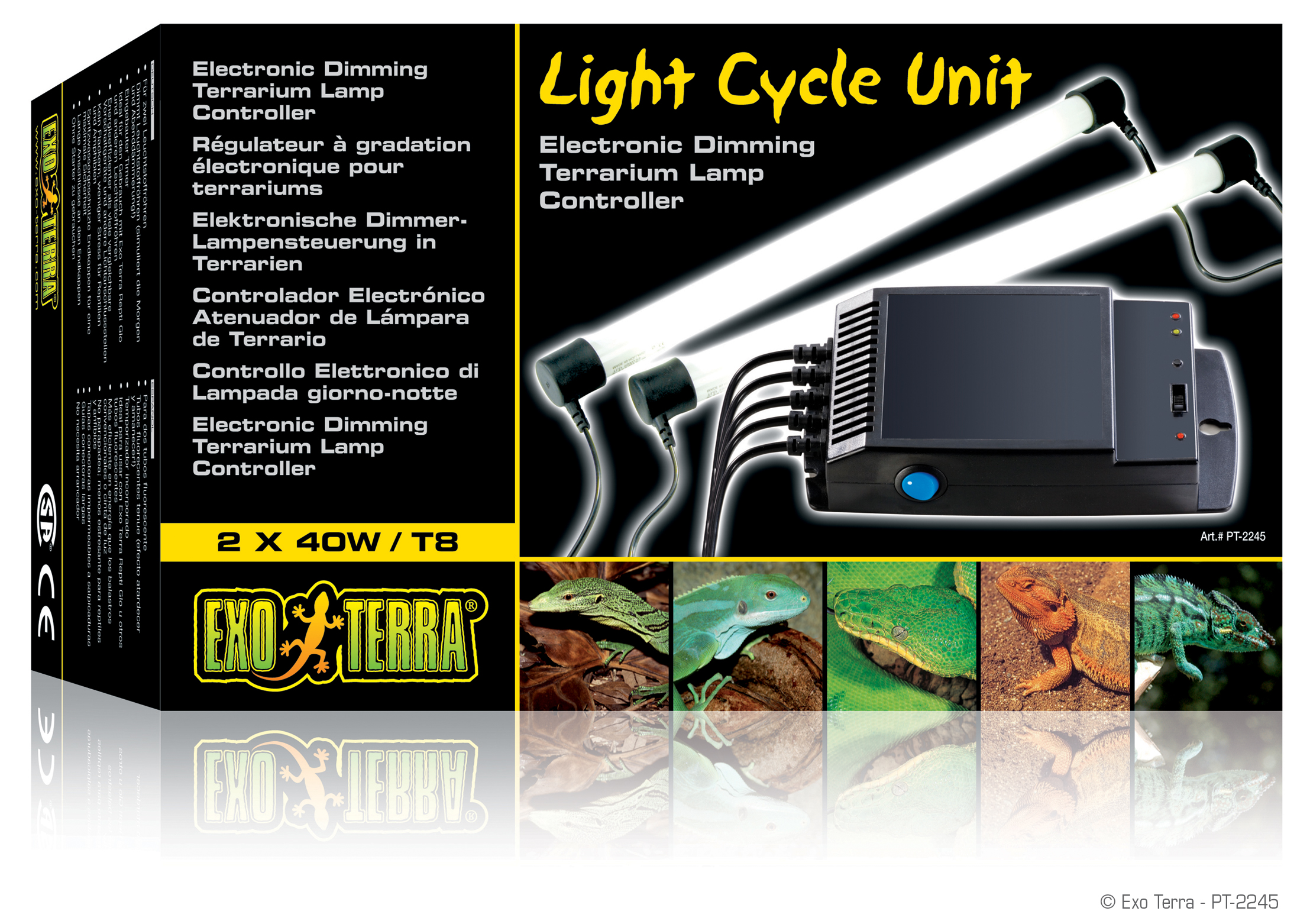 ... High Res Img ...  sc 1 st  Exo Terra & Exo Terra : Light Cycle Unit / Electronic Dimming Terrarium Lamp ...