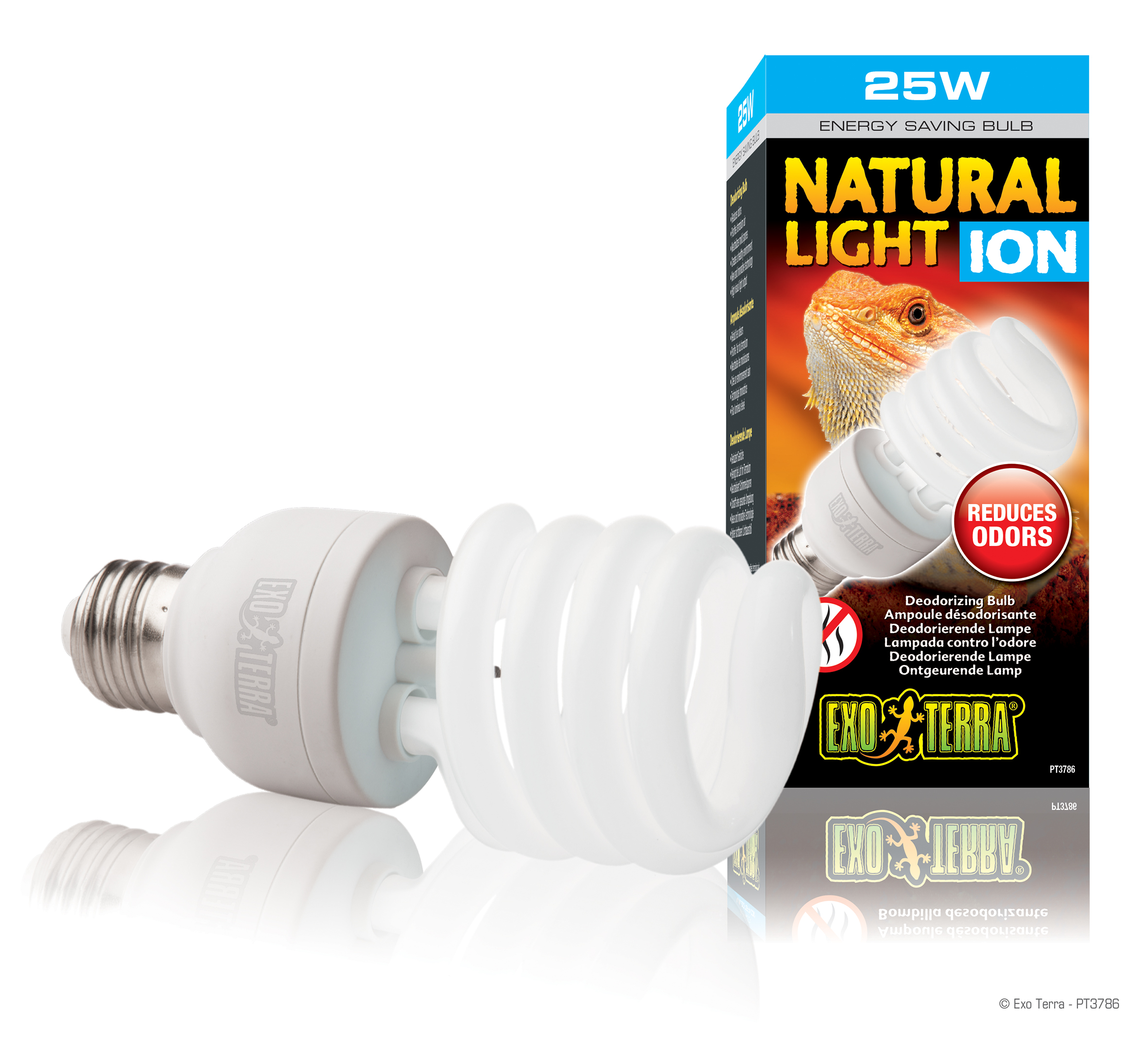 Exo Terra Natural Light Ion Deodorizing Bulb