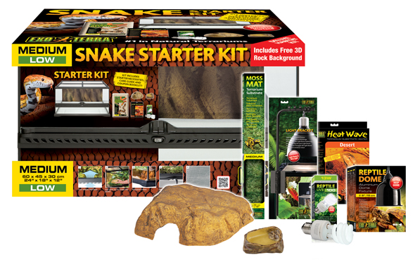 Exo Terra Snake Starter Kit Starter Kit For Corn