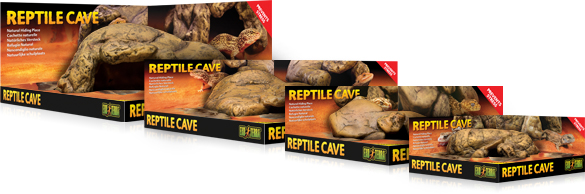 New Reptile Cave - 4 sizes